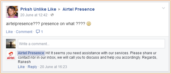 airtel-facebook