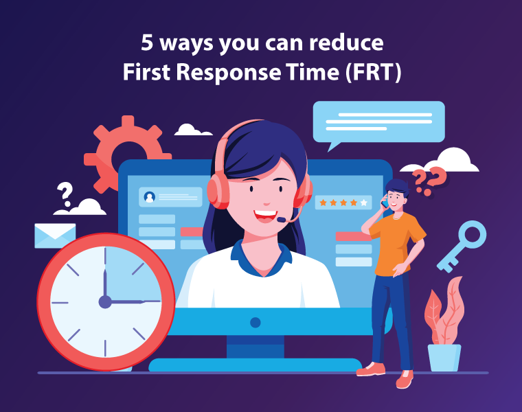 5 ways you can Improve First Response Time (FRT)